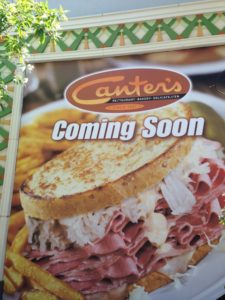 Canter's Deli - Coming soon!