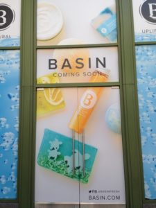 Basin White - Soaps and lotions- coming 2016!