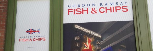 Gordon Ramsay Fish & Chips - Opening soon!
